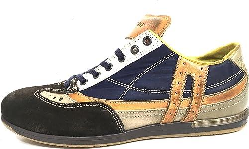 paniers Cafè Noir RF613 RF613 RF613 chaussures hommes in pelle e tessuto tecnico 42 e89