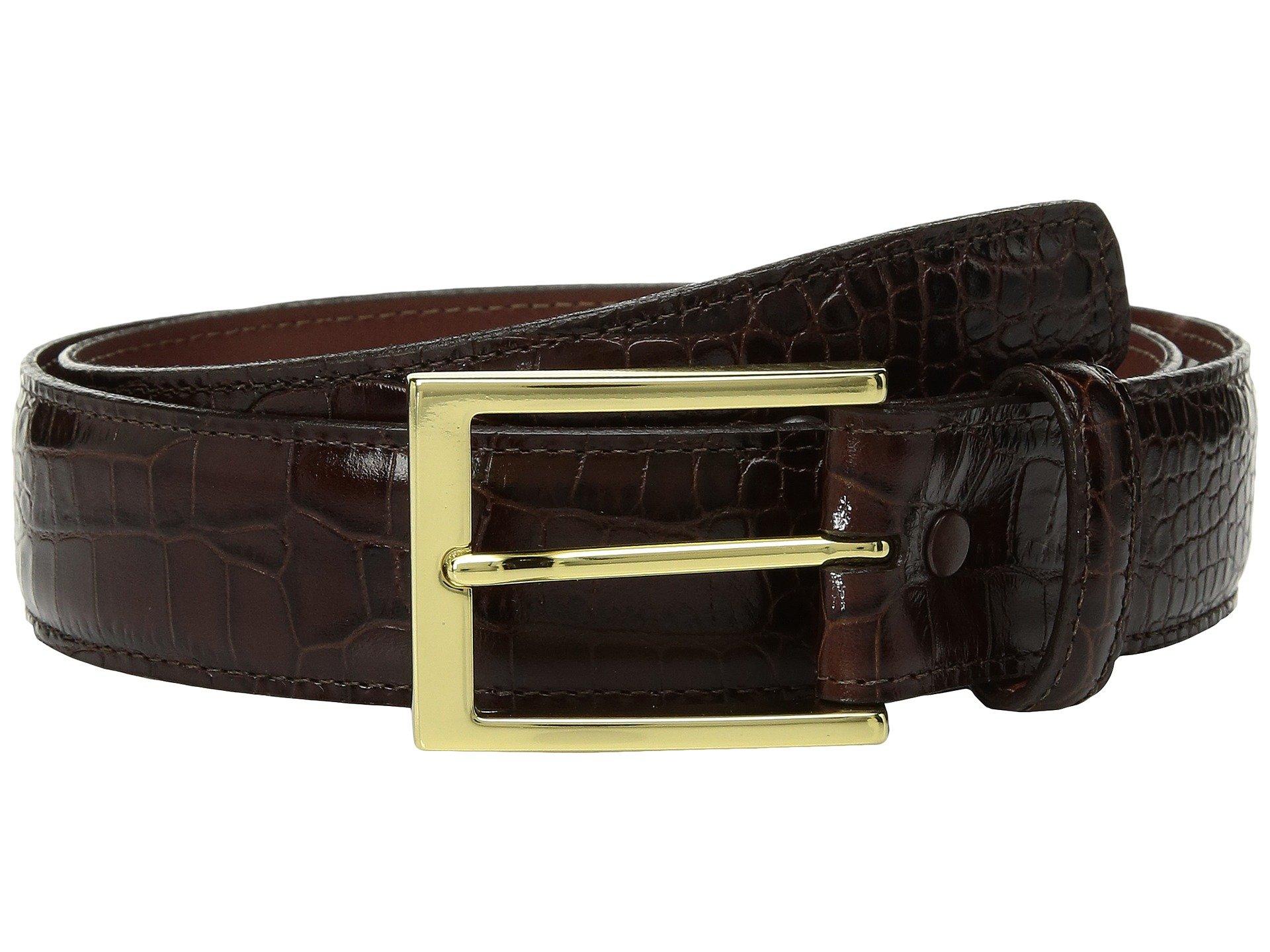 Correa o Cinturon para Hombre Torino Leather Co. 35mm Gator Grain Embossed Calf  + Torino Leather Co. en VeoyCompro.net