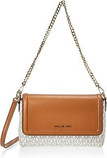 Michael Kors Womens Lg Pouchette Xbody Handbag