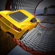 Mega Tracks Stunt Impossible Car Drive 3D