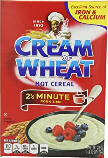 Cream of  Wheat, Original Stove Top, 2.5 Minutes, 28 Ounce Boxes (Pack of 4)