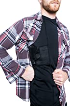 Graystone 5.11 Gun Holster Shirt Concealed Carry Glock - Mens VNeck Military Undercover & Bodyguard Armor - Adaptable comfort For all Seasons