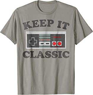 NES Controller Keep It Classic Graphic T-Shirt
