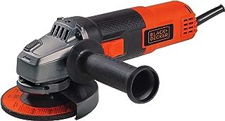 BLACK+DECKER BDEG400 6 Amp Angle Grinder, 4-1/2-Inch (Renewed)