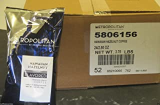 Metropolitan Hawaiian Hazelnut Ground Coffee (24/2.5 oz)