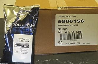 Metropolitan Hawaiian Hazelnut Ground Coffee (24/2.5 oz)