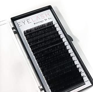 Eyelash extensions D curl .18 Mix trays 11mm-16mm