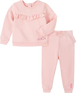 Juicy Couture Girls' 2 Pieces Pants Set