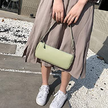 Klassische Vintage 90er Stil Damen Clutch Handtaschen Rachel Tasche Kleine Umhängetasche für Frauen