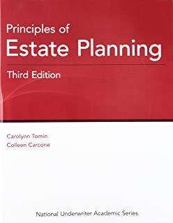Principles of Estate Planning, 3rd Edition (National Underwriter Academic)