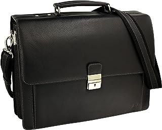 dcce6927a76049 Volmer® Herren Echt-Leder Business-Tasche für Notebook #Bag16208