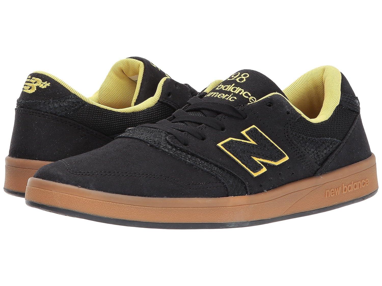(ニューバランス) New Balance メンズスニーカー?カジュアルシューズ?靴?スケート NM598 Black/Gum 9.5 (27.5cm) D - Medium