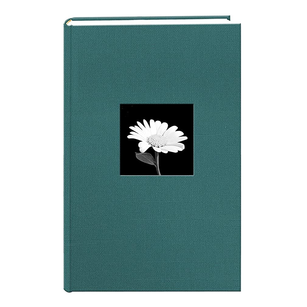 TSVP Majestic Teal 300 Pocket Fabric Frame Cover Photo Album,