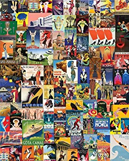 Springbok Puzzles - Delightful Deco - 1000 Piece Jigsaw Puzzle - Large 30 by 24 inch Puzzle - Made in USA - Unique Cut Int...