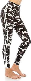 Leggings Women Yoga Pants - Print Pattern High Waist Workout Buttery Soft Stretchy