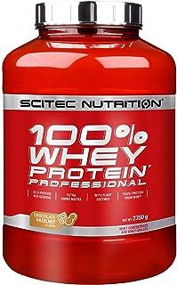 comprar comparacion Scitec Whey Protein Professional Mezcla de Proteína de Suero, chocolate con avellana- 2350 gr