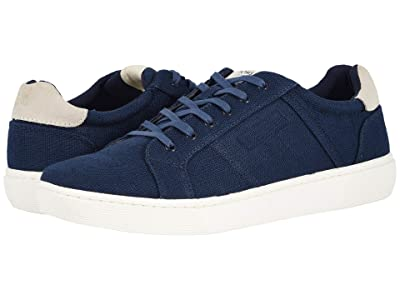 TOMS Leandro (Navy Heritage Canvas) Men