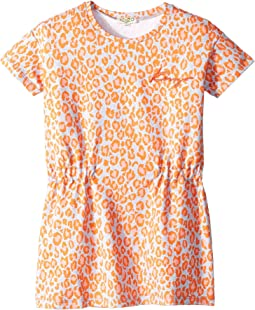 All Over Printed Summer Dress (Toddler/Little Kids)