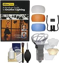 Nikon School - A Hands-on Guide to Creative Lighting DVD & Diffuser Filter Set + Bouncer Kit for SB-700 & SB-910 AF Speedlight Flashes