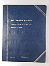 1938 Hard Cover, Used Jefferson Nickel Collection 1938 to 1961 Whitman Album Nickel by Whitman Publishing Co Folder
