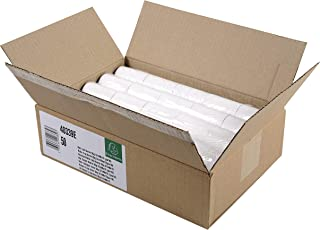 Exacompta - Réf. 40339E - Carton de 50 bobines pour tickets de carte bancaire 57x40 mm - 1 pli thermique 55g/m2 sans BPA....