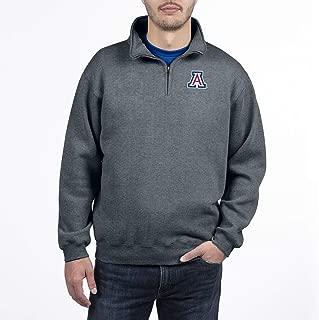 Top of the World NCAA Men's Dark Heather Classic Quarter Zip Pullover