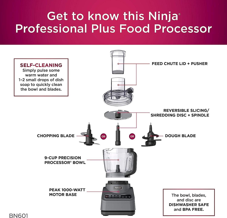 Ninja BN601 Professional Plus Food Processor Features