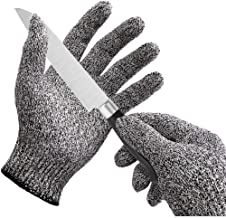 Clomana® Cut Resistant Hand Gloves as Safety Protection From Vegetable Knives Pack of 1