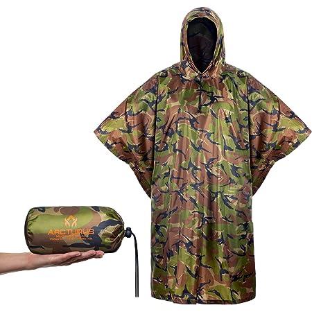 Nous Style Imperméable Capuche Military Poncho Basha Ripstop Armée Dpm Bois Camo