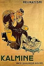 Vintage Posters Kalmine: Reumatismi - Italian Rheumatism Medicine Advertisement Poster Reproduction (18
