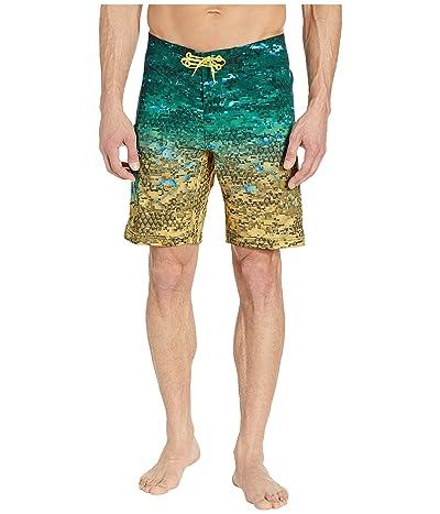 Columbia PFG Offshore II 9 inch Board Shorts (Dorado Digi Camo Fade) Men