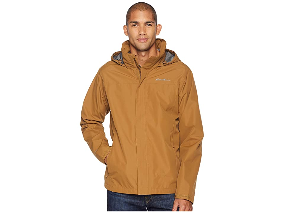 Eddie Bauer Packable Rainfoil Jacket (Aged Brass) Men
