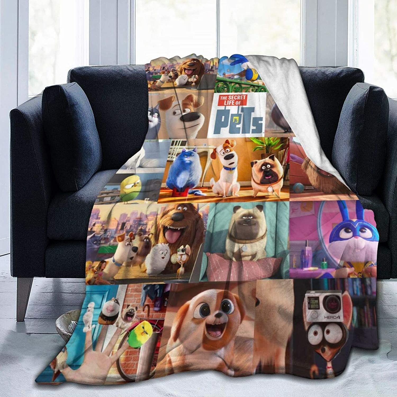 JANEZHI Secret 予約販売品 Life of Pets Big Collection Blanket Throw 毎日がバーゲンセール