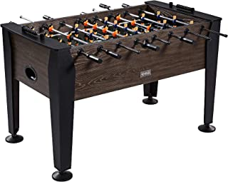 "Rally and Roar Foosball Table Game – 56"" Standard Size Fun, Multi Person Table Soccer Adults, Families - Recreational Foosball Games Game Rooms, Arcades, Bars, Parties, Family Night"