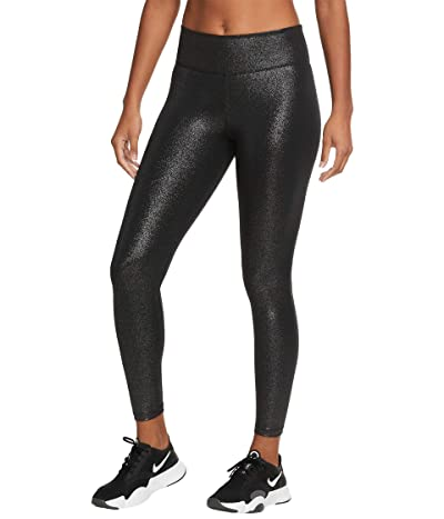 Nike One Tights 7/8 PP1 Sparkle (Black/Black) Women