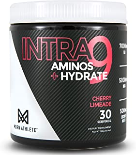 MDRN Athlete Intra9 | All 9 Essential Amino Acids EAA | 7 Grams | 2:1:1 Branched Chain Amino Acids BCAA | Keto | Recovery ...
