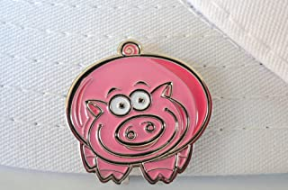 Piggie Golf Ball Marker and Magnetic Hat Clip