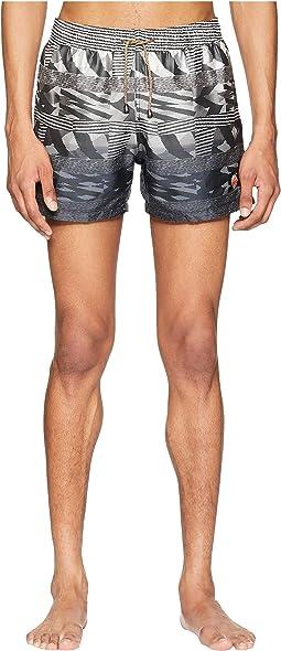 Mare Sfumato Jacquard Swim Shorts