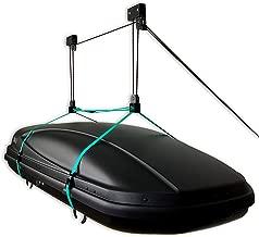 StoreYourBoard Cargo Box Ceiling Storage Hoist, Rooftop Carriers, Hi Lift Pro Garage Pulley, Hanger Rack
