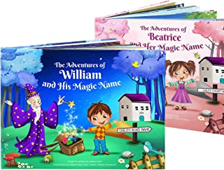 1st Birthday Gift - A Personalized Story Book for Young Children - Custom Made and Unique