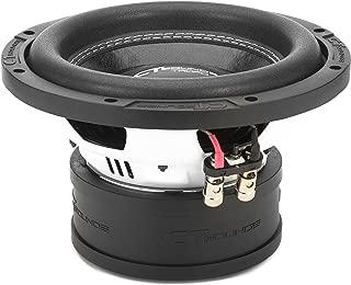 CT SOUNDS 8 Inch Car Subwoofer - Dual 4 Ohm Impedance, 800W Maximum Power, 2