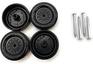Pinewood Derby Car BSA Speed Wheels and Axles Kit | Professionally Lathed