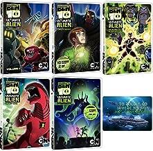 Ben 10 Ultimate Alien: Complete TV Series Seasons 1-3 DVD Collection with Bonus Art Card