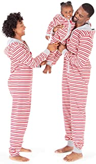 Burt's Bees Baby - Jumpbees, Matching Family Jumpsuits, One-Piece Hooded Zip-Front Romper