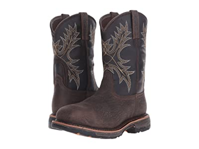 Ariat Workhog Wide Square Toe H2O CT (Bruin Brown/Coffee CT) Men