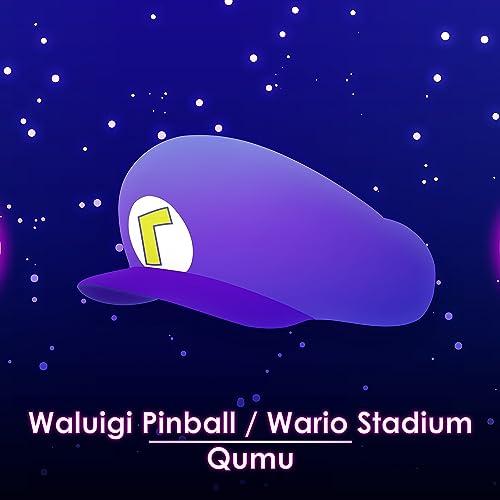 Waluigi Pinball Wario Stadium From Mario Kart Ds By