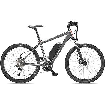 Telefunken Bicicleta eléctrica de montaña, Aluminio, Gris, con ...