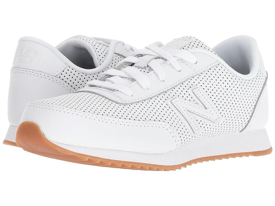 New Balance Kids KZ501v1Y (Little Kid/Big Kid) (White/White) Kids Shoes