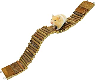 Niteangel Suspension Bridge for Hamsters, Small Pet Ladder, 21.8
