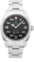 Rolex Air-King Mechanical (Automatic) Black Dial Mens Watch 116900 (Certified Pre-Owned)